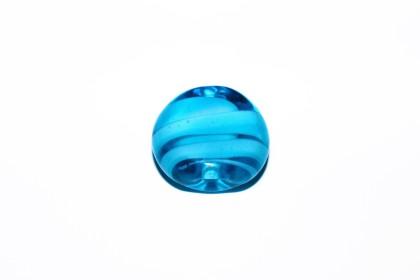 Murano Espalmado 22mm Azul Piscina