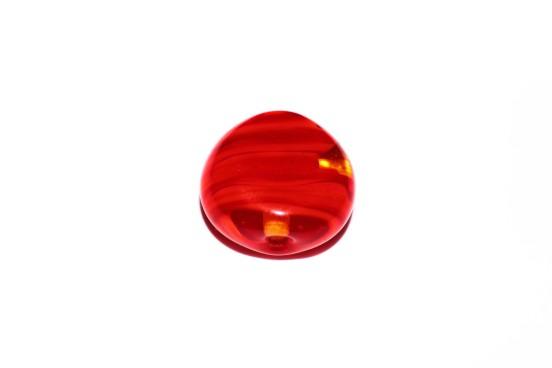 Murano Espalmado 22mm Vermelho
