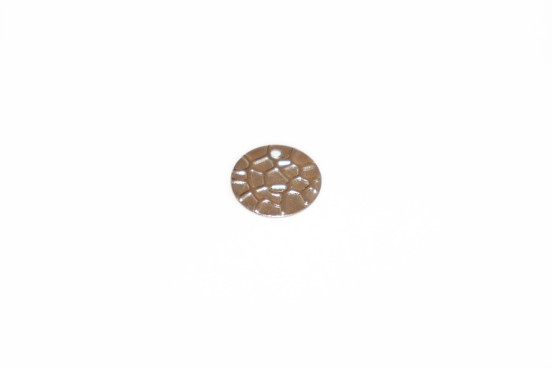 Medalha Metal 13mm Prateado