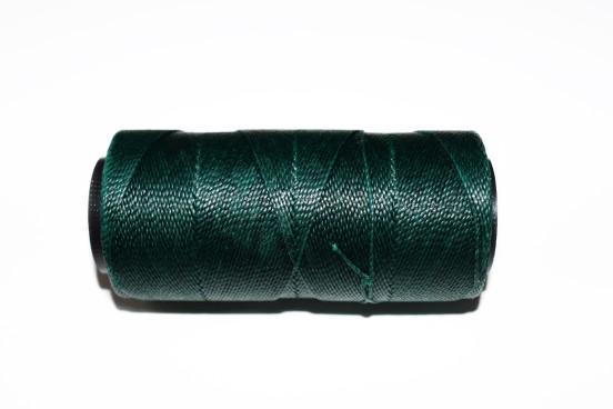 Cordão Poliester Encerado 0,8mm Verde